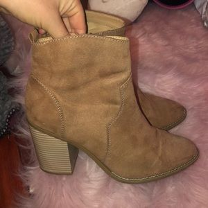 🌸Express Tan/Brown Suede Boots🌸